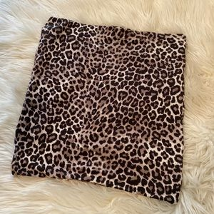 Cheetah Print H&M Pencil Skirt